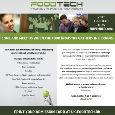 Meet us at Foodtech 13. – 15. November