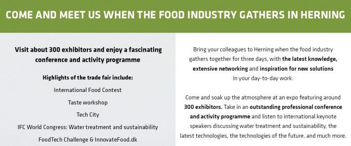 Meet us at Foodtech 13. – 15. November