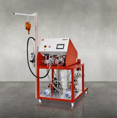 dopag eldomix potting epoxy machine