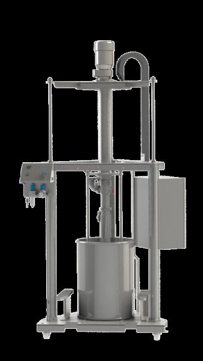 viscotec empyting system ViscoMT-XL-Hygienic