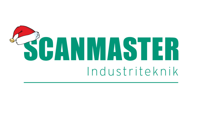 Scanmaster Logo with Christmas hat
